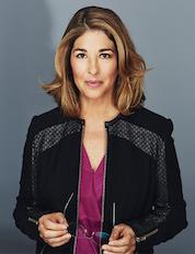 Naomi Klein, photo by Kourosh Keshiri
